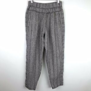 Anthropologie Hei Hei Beach Joggers Brown White